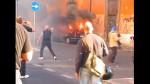 il corteo degli indignati roma,indignati,roma,black bloc,protesta,corteo,capitale